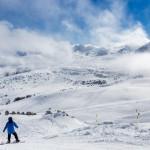 Grandvalira Andorra Llac del cubil snowboarding