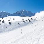 Grandvalira Andorra skiing slope