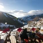 Grandvalira Andorra Soldeu after ski terrace
