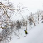 asahidake off piste skiing