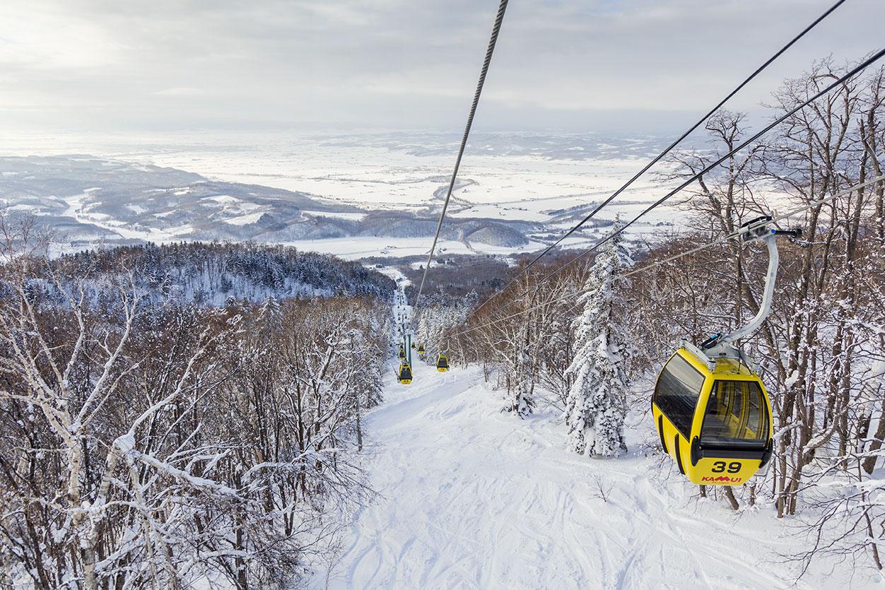 Hokkaido omatoimimatka puutereille Kamui Ski links