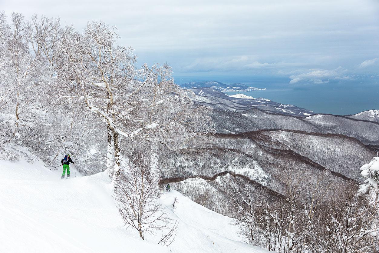 Hokkaido omatoimimatka puutereille Teine Sapporo