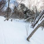 kurodake off piste skiing