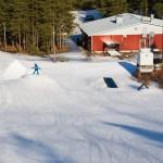 hiittenharju hiihtokeskus alue