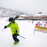 kiroro ski center down station