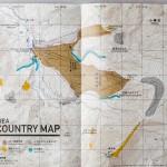 kiroro ski center area back country map