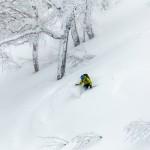 kiroro ski center off piste