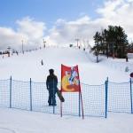 Ruosniemi Pori hiihtokeskus lumilautailu