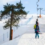Ruosniemi Pori hiihtokeskus hissit