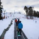 Ruosniemi Pori hiihtokeskus lastenrinne