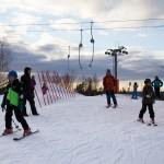 Ruosniemi Pori hiihtokeskus huippu