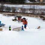 Ruosniemi Pori hiihtokeskus parkki