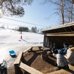 Salomonkallio hiihtokeskus grillipaikka