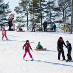 Salomonkallio hiihtokeskus lastenrinne