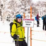 sapporo teine highland zone avalanche