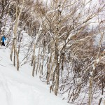 sapporo teine backcountry off piste route