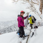 sapporo teine backcountry off piste randonnee