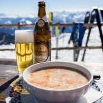 Innsbruck Patscherkofel top gipfelstub restaurant soup