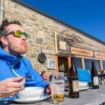 Innsbruck Patscherkofel top gipfelstub restaurant terrace peak