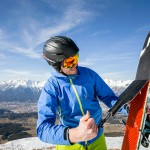 Innsbruck Patscherkofel skins skis