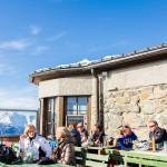 Innsbruck Patscherkofel shutzhaus restaurant terrace