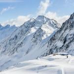 Innsbruck Stubai glacier skiing area
