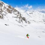 Innsbruck Stubai glacier Fernau off piste