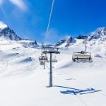 Innsbruck Stubai glacier eisjoch chair lift