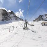 Innsbruck Stubai glacier slope
