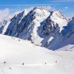 Innsbruck Stubai glacier offpiste route