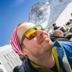 Innsbruck Stubai glacier Fernau terrace skier