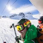 Innsbruck Stubai glacier tuolihissi