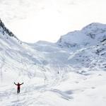 Innsbruck Stubai glacier wilde grup'n skiroute