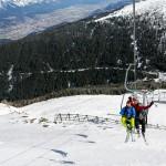 Innsbruck Axamer Lizum Karleiten chair lift