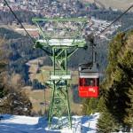 Innsbruck Patscherkofelbahn cabin lift