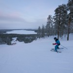 Pyhä Pyhätunturi skiing