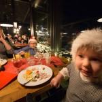 Pyhä Pyhätunturi ravintola Colorado joulupöytä