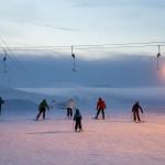 Pyhä Pyhätunturi skiers
