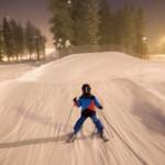 Pyhä Pyhätunturi skier cross -rata lapsille