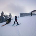 Pyhä Pyhätunturi 4b skiway silta