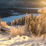 Svanstein ski hiihtokeskus lumilautailu rinneputikka