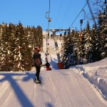 Trysil early bird skiing