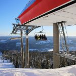Trysil hogegga chair lift