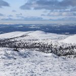 Trysil mountains ski touring