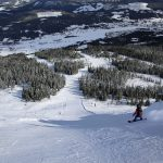 Trysil steep black slope