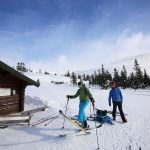 Trysil nordic skiing tracks