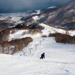 asari asarigawa onsen skiing slopes