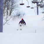 asari asarigawa onsen powder skier