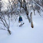 iwanai resort backcountry skiing