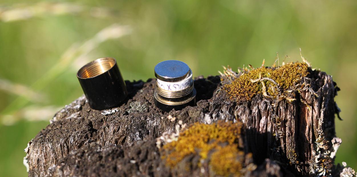 Nano-kokoluokan geokätkö